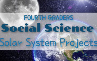 Solar System projects by 4th graders